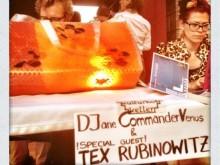 Am Lendhafen: DJane CommanderVenus & !Special Guest! Tex Rubinowitz