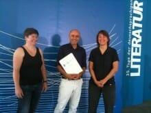 Automatische Literaturkritik Preis der Riesenmaschine (500 Euro) an Linus Reichlin verliehen