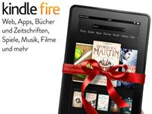Nur 4 Tage lang gibt es den Kindle Fire 30 Euro günstiger