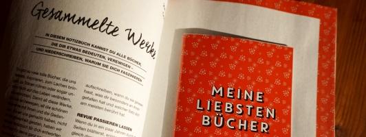 Das Flow-Lesebuch mit Lesenotizbuch
