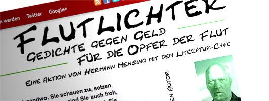 Aktion »Flutlichter« von Hermann Mensing aus dem Jahre 2004