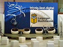 Das Forum leipzig.liest.digital am Vorabend der Leipziger Buchmesse 2012