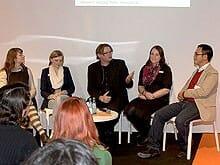 Die Diskussionsrunde beim »Forum Blog« (Foto: Agnieszka Stocker)