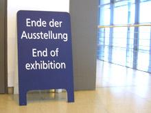 Leipzig 2007: Ende der Ausstellung
