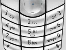 Tastatur des Nokia 6630
