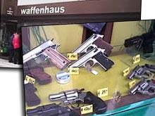 Im Fachhandel erhältlich: Waffen für den Amoklauf
