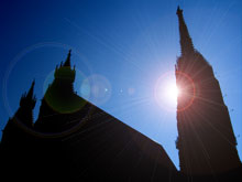 Der Stephansdom in Wien