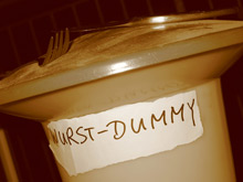 Wurst-Dummy
