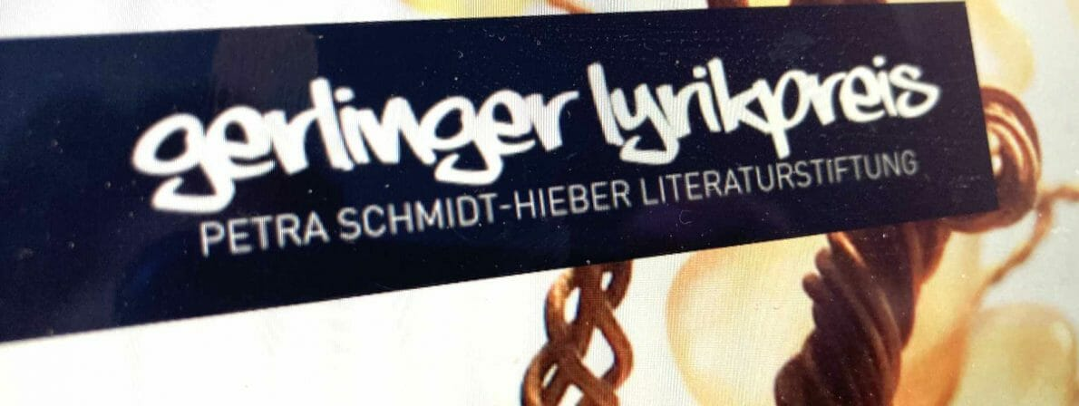 Der Gerlinger Lyrikpreis wird von der Petra Schmidt-Hieber Literaturstiftung ausgeschrieben (Foto: Ausschnitt der Website)