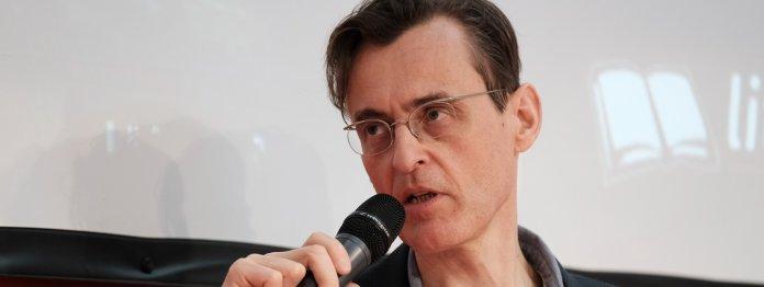 Benedikt Gollhardt im Gespräch (Foto: Birgit-Cathrin Duval)