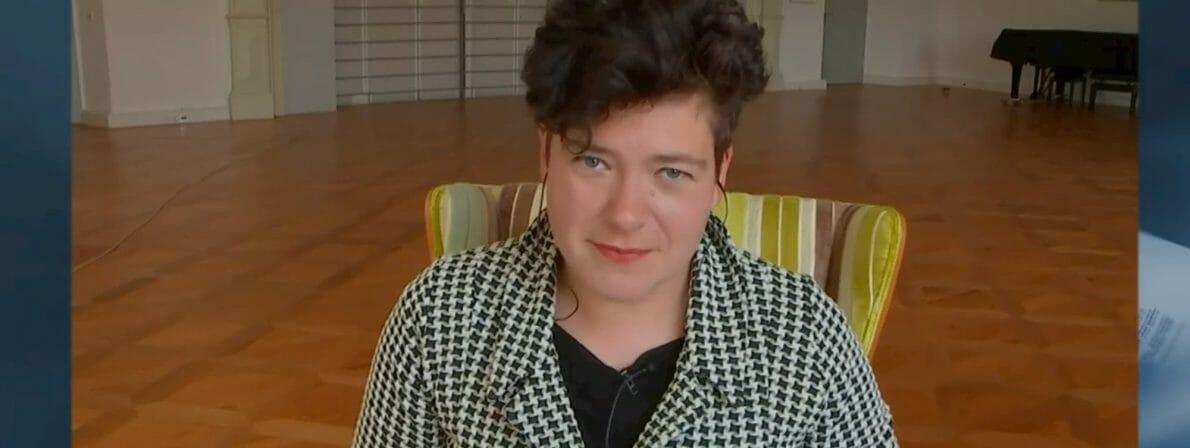 Nora Gomringer (Foto: Screenshot/ORF)
