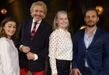 Die zweite Sendung »Gottschalk liest?« mit Johanna Adorján, Thomas Gottschalk, Marlene Streeruwitz und Friedemann Karig (Foto: BR)