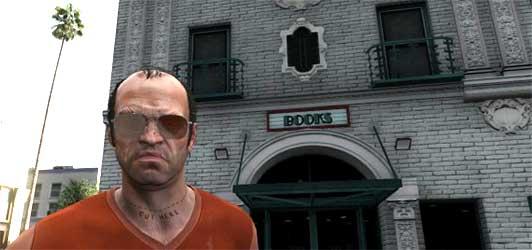 Buchhandlung im Spiel GTA V