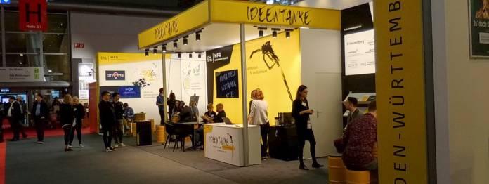 Die Ideentanke 2019 auf der Frankfurter Buchmesse