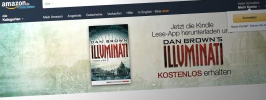 Illuminati gibt es eine Woche bei Amazon als E-Book gratis