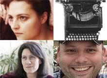 Die vier Indie-Autoren, die an diesem Artikel mitgearbeitet haben (Fotos: privat)