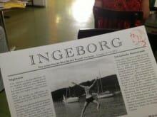 Uni Hildesheim verteilt »INGEBORG - Das sympathische Blatt für den Bewerb von heute«