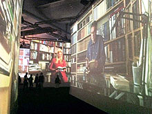 Island-Pavillon auf der Frankfurter Buchmesse 2011 (Foto: Barbara Fellgiebel)