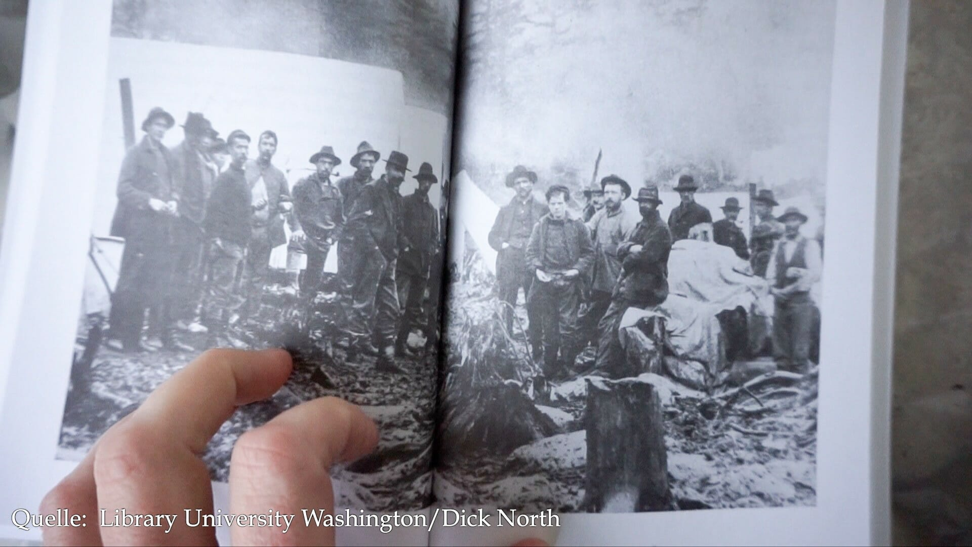In den Archiven hat Dick North in den 1980er-Jahren dieses Foto von 1897 gefunden. Es ist das einzige Foto, das Jack London in seiner Zeit im Yukon zeigt.