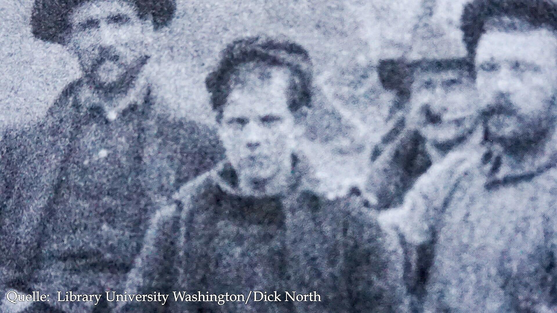 Breitschultriger Abenteurer oder schmächtiger Junge: Jack London 1897 im Yukon. Er war 21 Jahre alt.