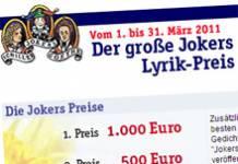 Jokers Lyrik-Preis 2011