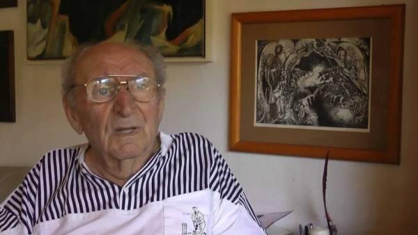 Josef Reding (Quelle: YouTube/ Karl-Heinz Gajewsky)