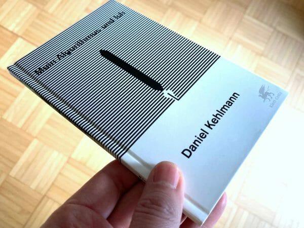 Nicht sehr groß, aber schön: Daniel Kehlmanns Rede »Mein Algorithmus und ich« als Büchlein mit Pappeinband