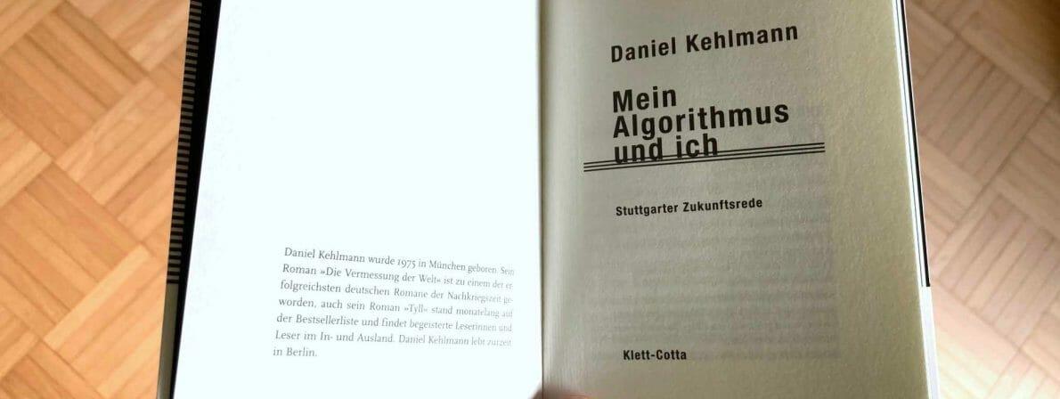 Typografisch leider Durchschnitt: »Mein Algorithmus und ich«