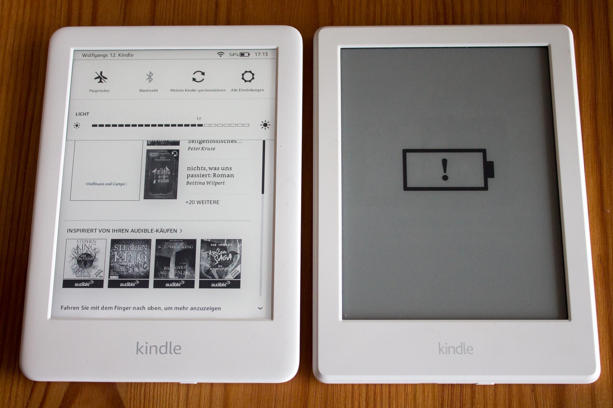 Kindle und Kindle Paperwhite 2019 im Vergleich: Wozu die zwei