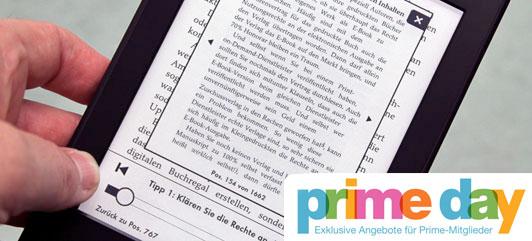 Kindle Paperwhite als Prime-Angebot