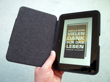 Kindle Fire HD mit teurer Hülle