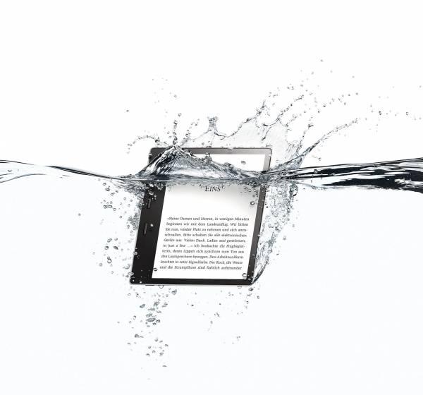 Kindle Oasis 2 von Amazon: Wasserfest, günstiger - aber hüllenlos