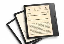Amazon Oasis E-Reader kommt mit verstellbarer Farbtemperatur