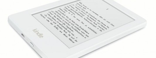 Kindle in Weiß