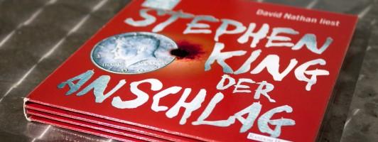 Hörbuch: Der Anschlag von Stephen King, gelesen von David Nathan