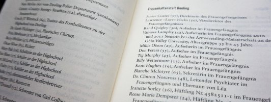 70 Personen und ein Fuchs: Das Personenverzeichnis von Sleeping Beauties