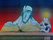 Szene aus dem Zeichentrickfilm von Karel Zeman nach dem Jugendbuch von Otfried Preußler