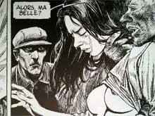 Ausschnitt aus dem Comic »La Douce« (ATLANTIC) von François Schuiten