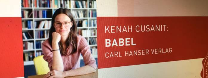 Preis der Leipziger Buchmesse 2019 für Kenah Cusanit?