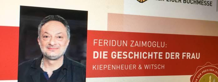 Preis der Leipziger Buchmesse 2019 für Feridun Zaimoglu?