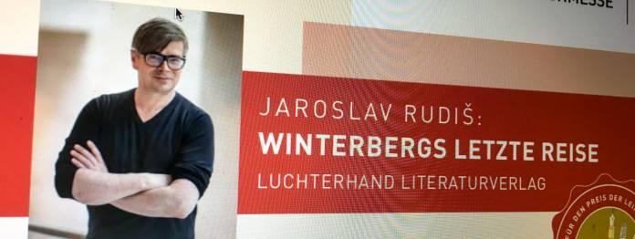 Preis der Leipziger Buchmesse 2019 für Jaroslav Rudiš?