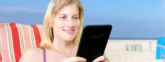 Mit E-Book und E-Reader in den Urlaub: 11 Tipps für Kindle und Tolino