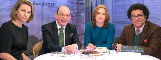 Lesenswert im SWR: Denis Scheck und Mara Delius im Interview