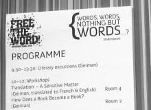 International PEN Literary Festival in Linz: Wörter, Wörter, nichts als Wörter