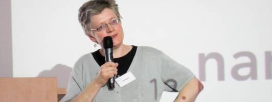 Lisa Kuppler auf der Narrativa (Foto: Tischer)