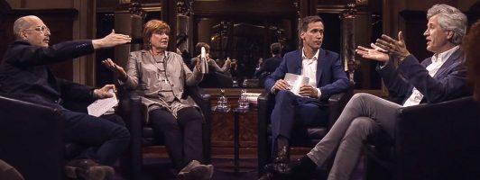 Das literarische Quartett (Foto: ZDF)
