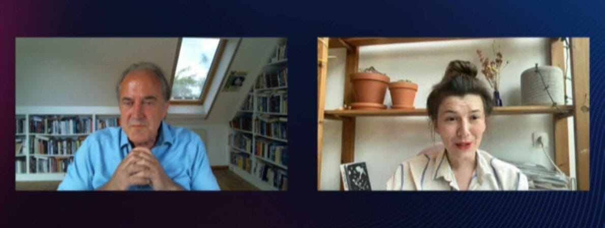 Bernhard Robben im Gespräch mit Charlotte Van den Broeck