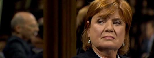 Christine Westermann im literarischen Quartett (Foto: ZDF)