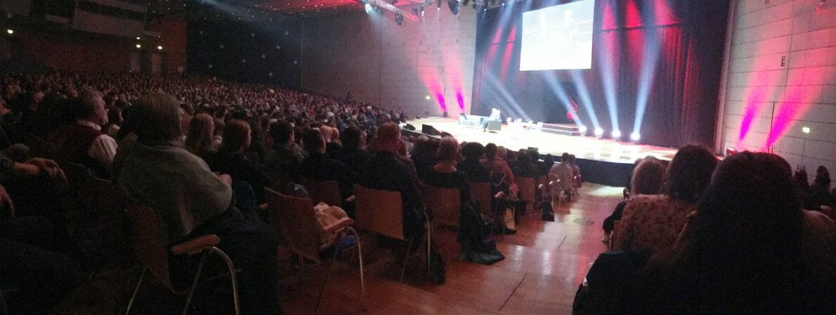 Auch das ist 2020 undenkbar: Die Literaturgala zur Frankfurter Buchmesse 2019 im Kongresscenter