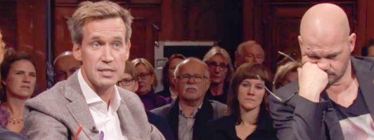 Gastgeber Volker Weidermann (links) und Gast Thomas Glavinic (Foto: ZDF)
